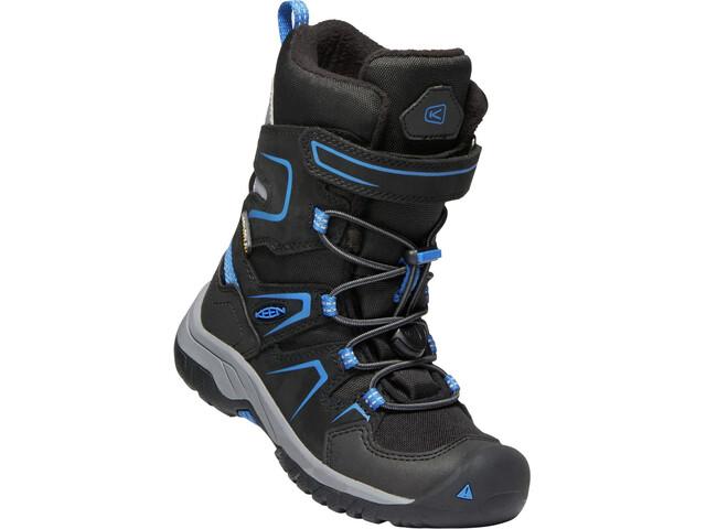 Keen Levo WP Winter Shoes Barn black/baleine blu
